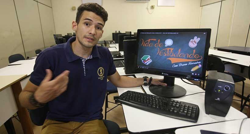 ENEM: Estudante de Engenharia vira youtuber para ajudar vestibulandos