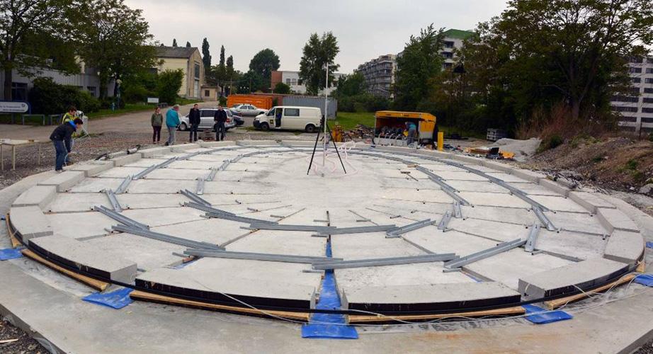 Concreto Inflável, uma idéia inovadora